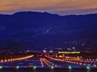 伊丹空港 誘導灯