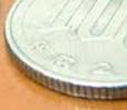 100円硬貨のギザギザ