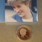 ダイアナ妃 記念貨幣