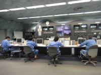 舞洲工場 中央制御室