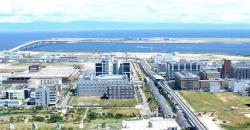 株式会社ビオスタは、最先端の医療研究機関が集まる神戸のポートアイランドにあります。