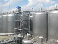 アサヒビール 工場見学 熟成タンク
