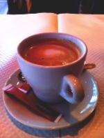 フランスのカフェ