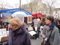 モンマルトルの広場