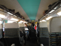 TGV 二等席 車内