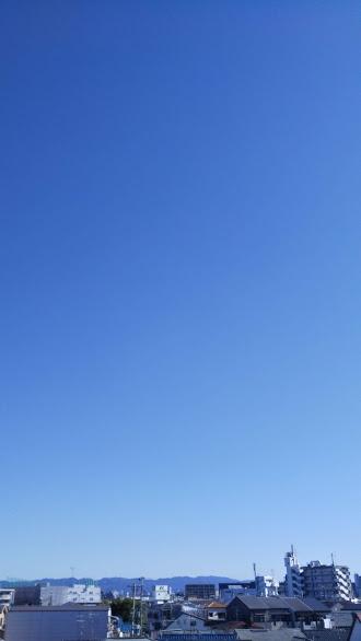 気持ちのいい青空