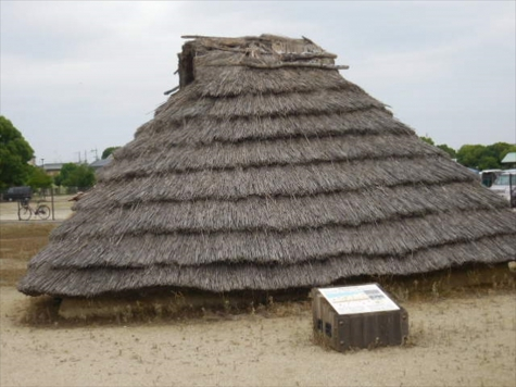 弥生時代中期の居住地跡